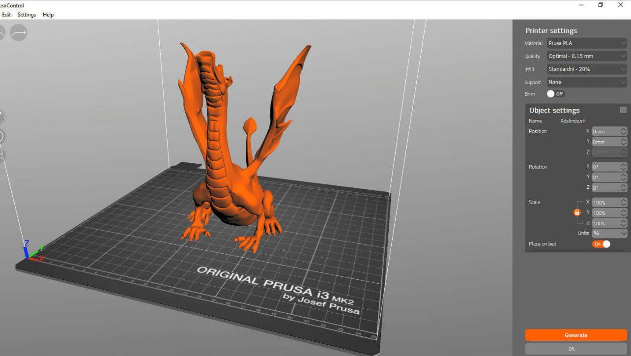 Starseed Mod - Modellazione e Stampa 3D   Prusa Slicers 2 0